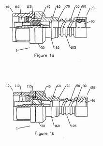 patent ep1447881a2 coaxial cable connector system and With wiring coax f plug