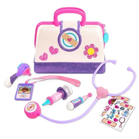 mainan track doc mcstuffins hospital doctor 39 s bag set target