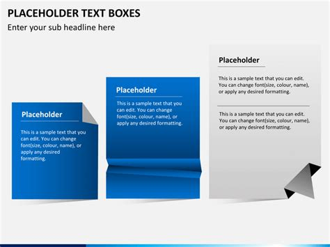 placeholder text color placeholder text boxes powerpoint sketchbubble