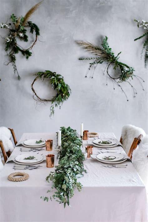 inspiring christmas table setting ideas digsdigs