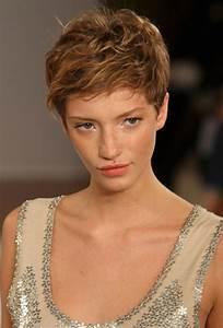 Coiffures Courtes Dégradées : 1001 id es comment coiffer des cheveux courts coupe ~ Melissatoandfro.com Idées de Décoration