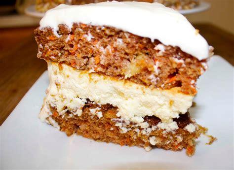 carrot cake cheesecake carrot cake cheesecake cooked by julie episode 65
