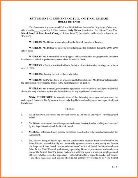 settlement agreement marital settlements information