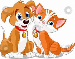 dog-and-cat-clipart.jpg (450×351) | ANIMALS CLIP ART ...