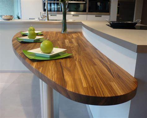 plan de travail en bois lequel choisir inspiration cuisine