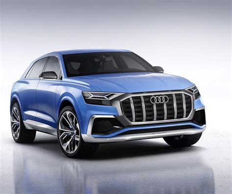 audi q8 e tron concept will challenge x6 and gle coupe