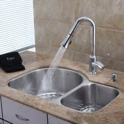 best kitchen sink faucet reviews stainless steel kitchen sink combination kraususa