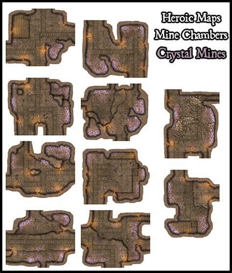 Making 3d Dungeon Tiles by Heroic Maps Modular Kit Mine Chambers Heroic Maps