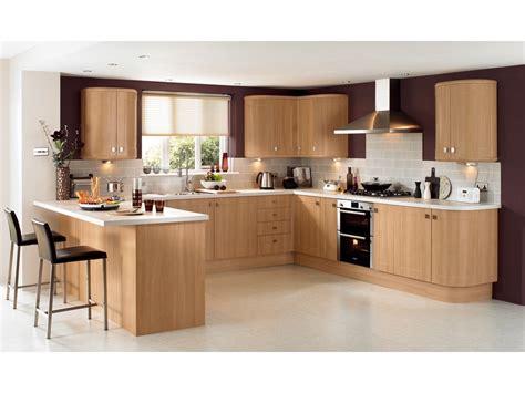 cuisine maison bois cuisine chene clair contemporaine collection avec cuisine