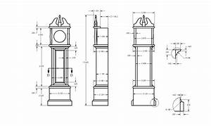 Grandfather Clock Building Kit Plans Diy Free Download