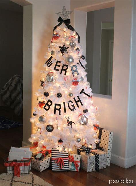 black white  coral christmas diy ideas