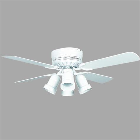 small white ceiling fan monte carlo clarity ii 42 in rubberized white ceiling fan