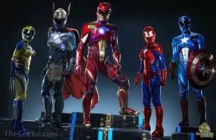 Power Rangers Avengers
