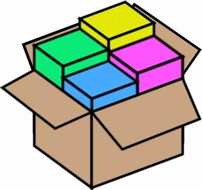 Package Bundle Box Vector Clip Clipart Packages