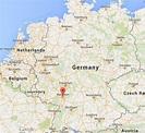Mannheim Germany Map