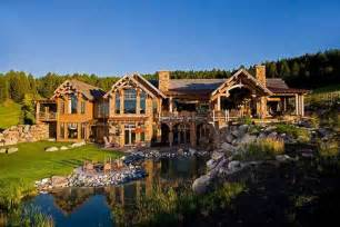 HD wallpapers log homes for sale in kalispell montana