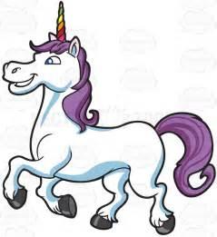 Happy Unicorn Clip Art