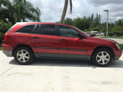 Chrysler Pacifica 2007 Problems by Buy Used 2007 Chrysler Pacifica 4 0l V6 Awd In Fort