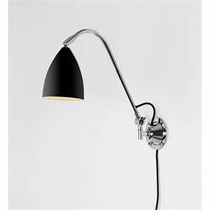 Appliques Murales Noires : applique murale joel xl noire astro lighting ~ Edinachiropracticcenter.com Idées de Décoration