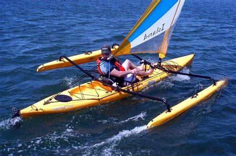 hobie adventure island sail yes a kayak that maneuvers sails well killer kayaks