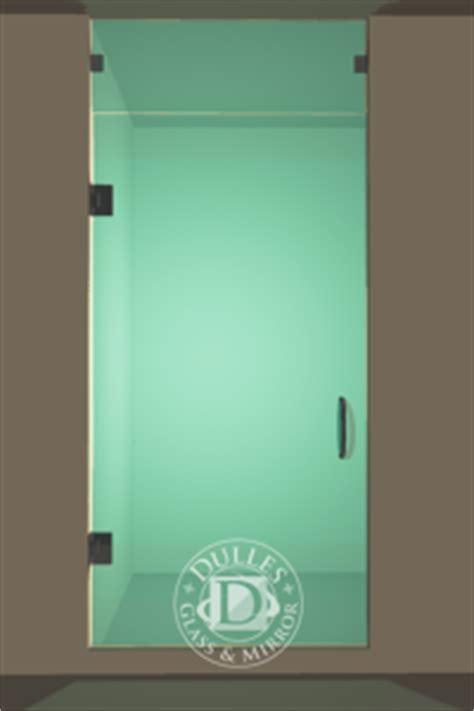 Frameless Shower Door   Single Door