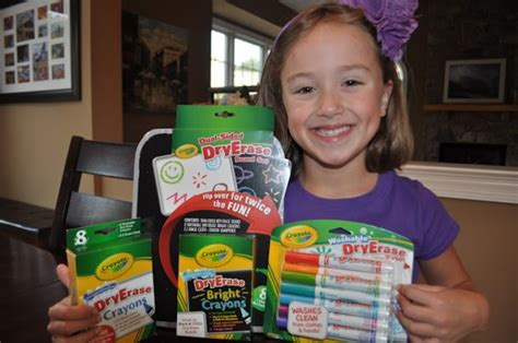 New Crayola Wild Notes & Dry Erase Product Review