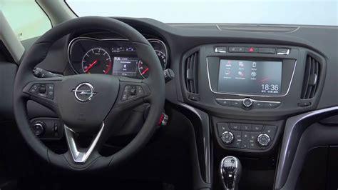Opel Zafira Interior by New 2016 Opel Zafira Interior Luggage