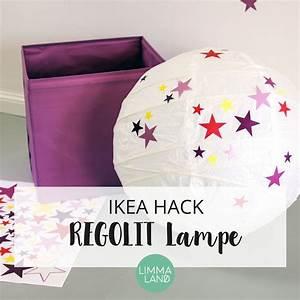 Nähen Für Das Kinderzimmer Kreative Ideen : hier findet ihr tolle ikea hacks rund um die ikea regolit lampe sch ne kreative ideen um die ~ Yasmunasinghe.com Haus und Dekorationen