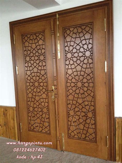 pintu jati utama doubel kupu tarung harga pintu harga pintu