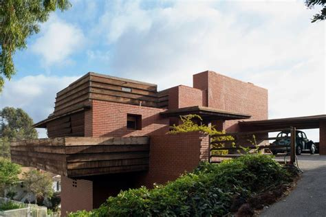 the frank lloyd wright house designs frank lloyd wright house in los angeles will be auctioned