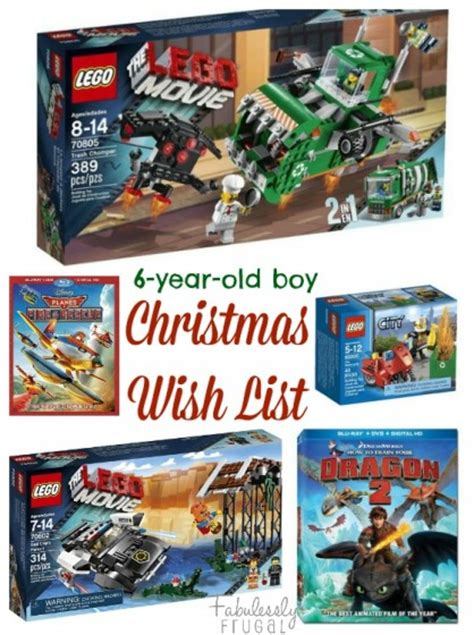 christmas gift ideas 6 year old boy