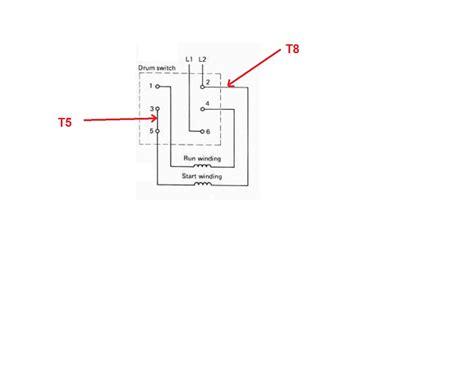 wiring diagram besides motor reversing drum switch single