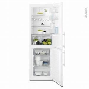 Refrigerateur Pose Libre Dans Une Niche : r frig rateur combin 329l pose libre 185 cm blanc electrolux en3605jow oskab ~ Melissatoandfro.com Idées de Décoration