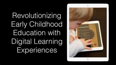preschool learning experiences revolutionizing early childhood education with digital 842