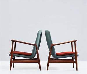 Dänische Möbel Vintage : finn juhl easy chairs bovirke design vintage m bel ~ Watch28wear.com Haus und Dekorationen