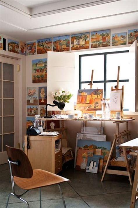 home art studio design  decorating ideas  create