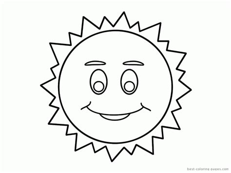 sun template  kids coloring home
