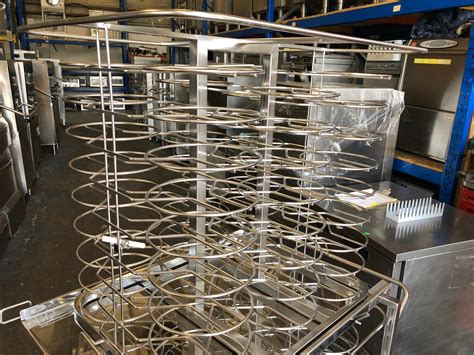 grid mobile plate rack model banquet     jack stack  rational catering