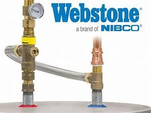 Webstone Water Heater Tempering Valve