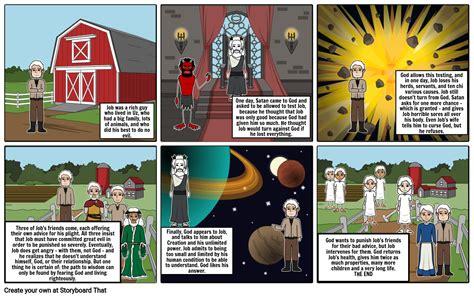 Job's story Storyboard by ramwry
