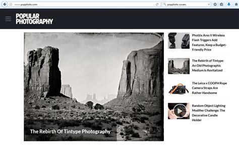 Oh No! No More Popular Photography Magazine! Blog