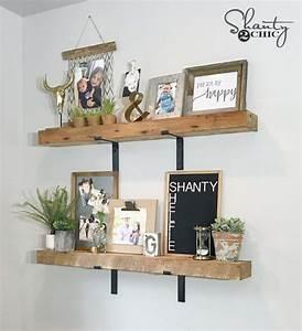 Diy, Chunky, Industrial, Shelves