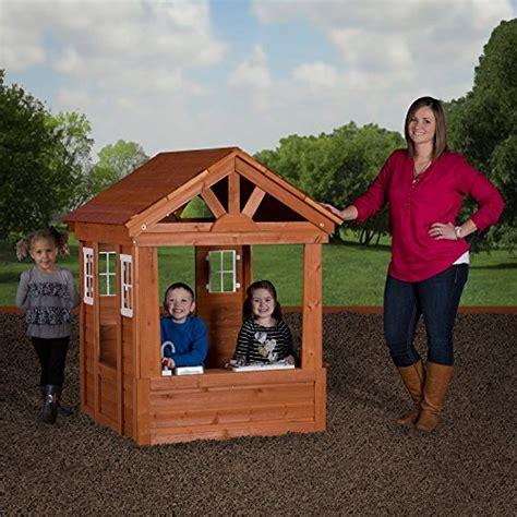 Backyard Discovery Scenic All Cedar Playhouse by Toys Wooden Playhouse Preview Backyard Discovery
