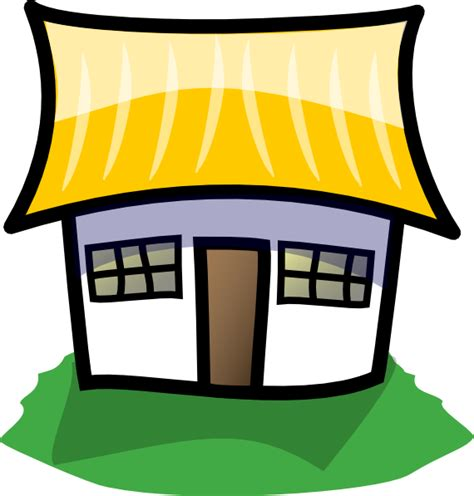 Clip Art 9 Cartoon House Image #625