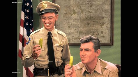 andy griffith show in color andy griffith pickle