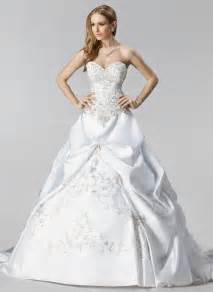 brautkleider sale gown sweetheart chapel satin wedding dress with embroidered ruffle beading 002000485