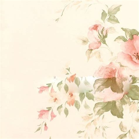 wallpaper bunga floral flower shabby chic vintage rustic