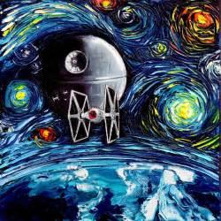 Star Wars Starry Night Van Gogh