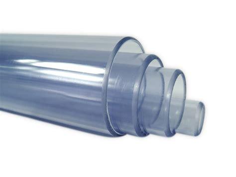 pvc rohr transparent je meter durchmesser   mm