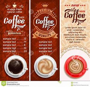 coffee labels stock image image 32419581 With coffee label design template
